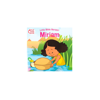 Little Bible Heroes, Miriam and Daniel, Flip-Over Book, by Victoria Kovacs, Paperback