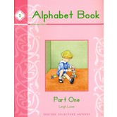 Memoria Press, Alphabet Book 1, by Leigh Lowe, Paperback, 91 Pages, Grades PreK-K