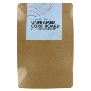 Imagination Station, Unframed Cork Board, 11 x 17 inches