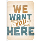 We Want You Here, by Thom S. Rainer, Hardcover