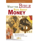 What the Bible Says About Money, by Rose Publishing, Pamphlet