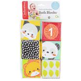 Infantino, Colors & Numbers Bath Blocks, 6 Blocks