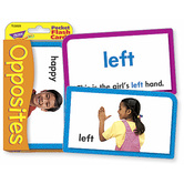 Pocket Flash Cards Opposites Two-Sided Cards