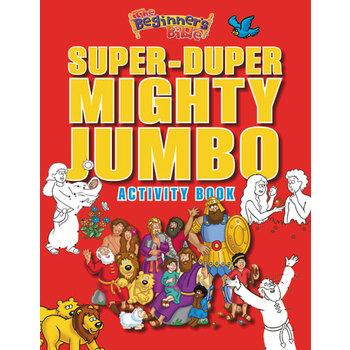 The Beginner's Bible Super-Duper Mighty Jumbo Activity Book