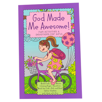 God Made Me Awesome!: Fun Activities & Devotions for Girls, by Broadstreet, Paperback