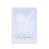 Warner Press, Dove Folded Baptism Certificates and Envelopes, 5 x 7 inches, Set of 6