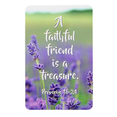 Dicksons, Proverbs 18:24 A Faithful Friend Pocket Card, 2 1/2 x 4 inches