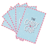 Renewing Faith, The Candy Cane Gospel Tracts, 5 1/4 x 3 1/2 inches, Set of 50 Tracts