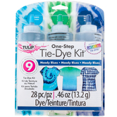 Tulip, Tie-Dye Kit, Moody Blues, 28 Pieces, Grades 2 and up
