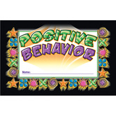 North Star Teacher Resources, Positive Behavior Punch Cards, 4 x 2.5 Inches, Pack of 36