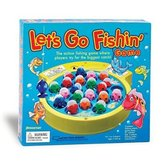 Schylling, Let's Go Fishin' Game, Ages 4 Years and Older, 2 to 4 Players