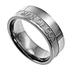Spirit & Truth, 1 Timothy 6:11, Man of God, Men's Ring, Stainless Steel