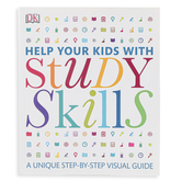 DK Books, Help Your Kids with Study Skills Reference, Paperback, 256 Pages, Grades 3-12