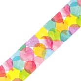 Creative Teaching Press, Balloon Party Border, Straight Trimmer, Multi-Colored, 35 Feet