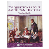 Memoria Press, 200 Questions About American History Teacher Guide, 69 Pages, Grades 5-8