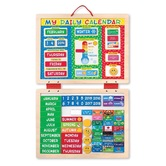 Melissa & Doug, My Magnetic Daily Calendar, Age 3 to 7 Years Old, 82 Pieces