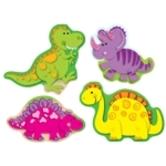 Carson Dellosa, Dinosaurs Shape Stickers, Multi-Colored, Pack of 78