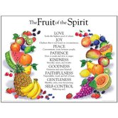 Fruit of the Spirit Poster, by Rose Publishing, Wall Chart