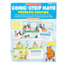 Scholastic, Comic-Strip Math Problem Solving Workbook, 96-Pages, Paperback, Grades 3-6