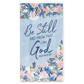 Renewing Faith, Psalm 46:10 Be Still And Know That I Am God 28-Month Pocket Planner, 3 1/2 x 6 1/2 inches