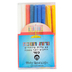 Holy Land Gifts, Special Chanuka Candles, Assorted Colors, 5 1/2 inches, 45 Count
