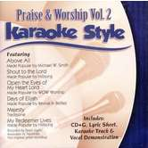 Praise and Worship Volume 2, Karaoke Style, As Made Popular by Various Artists, CD+G
