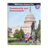BJU Press, Heritage Studies 2 Activities Answer Key, 4th Edition, Spiral, 112 Pages, Grade 2