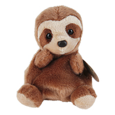 Aurora, Palm Pals, Slomo the Sloth Stuffed Animal, 5 inches