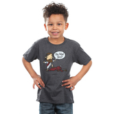 Gardenfire, Romans 16:20, Mad Bro, Kid's Short Sleeve T-Shirt, Charcoal Heather, Youth Small