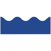 Renewing Minds, Scalloped Border Trim, 38 Feet, Royal Blue