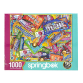 Springbok, Candy Bar Wrappers Sweet Tooth Puzzle, 1000 Pieces, 24 x 30 inches Completed