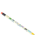 Renewing Minds, Owls Pencil with Eraser, 7.38 Inches, Multi-Colored, 1 Each