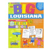 Gallopade, The BIG Louisiana Reproducible Activity Book, Paperback, 96 Pages, Grades 2-8