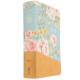 NIV True Images Bible for Teen Girls, Duo-Tone, Blue and Gold