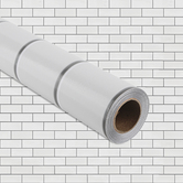 Teacher Created Resources, Better Than Paper Bulletin Board Roll, White Subway Tiles, 4 x 12 Foot, 1 Roll