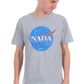 Kerusso, Philippians 4:6 NADA Care in the World, Men's Short Sleeve T-shirt, Athletic Heather Gray, S-3XL