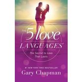 The 5 Love Languages, New Updated Edition, by Gary Chapman, Paperback