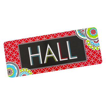 Isabella Collection, Hall Pass, 3 x 6 Inches, Bright Multi-Colored