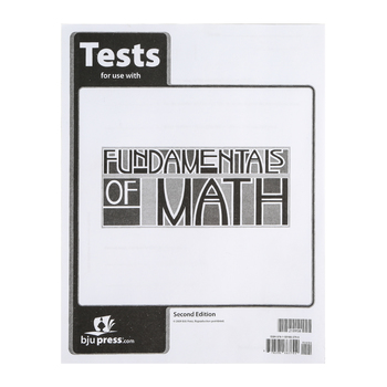 BJU Press, Fundamentals of Math 7 Tests (2nd Edition)