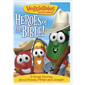 VeggieTales, Heroes of the Bible Volume 3: 3 Great Stories about Moses, Miriam and Joseph, DVD