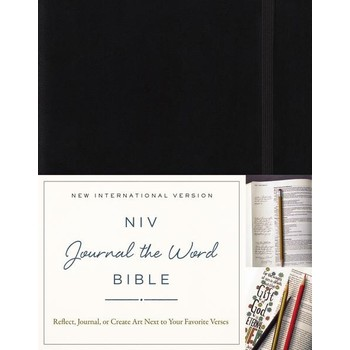 NIV Journal The Word Bible, Hardcover, Multiple Colors Available