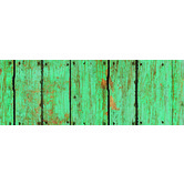 Renewing Minds, Wide Border Trim, 38 Feet, Turquoise Fence