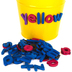 Teacher Created Resources, Magnetic Foam Lowercase Letters, Assorted Colors, 55 Pieces, 1 Inch