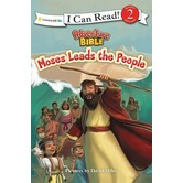 Moses Leads The People, I Can Read, Level 2 Reader, by David Miles