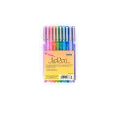 Marvy, LePen Fine Point Pens, 1 Each of 10 Colors