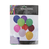Brother Sister Design Studio, Party Balloons, Multiple Colors, 12 inches Each, 25 Balloons