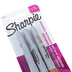 Sharpie, Metallic Fine Point Permanent Markers Set, Gold, Silver, and Bronze Ink, Pack of 3