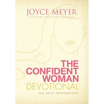 The Confident Woman Devotional: 365 Daily Inspirations, by Joyce Meyer, Hardcover