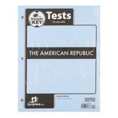 BJU Press, American Republic Tests Answer Key, 4th Edition, Grade 8