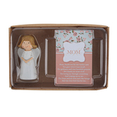 Dicksons, Mom Itty Bitty Angel Gift Set, Resin, 2 1/2 inches